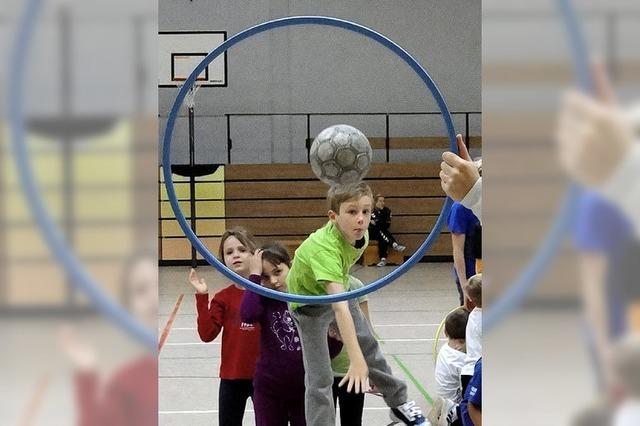 Handball für Zweitklässler