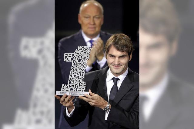 Erfolgsgarant Roger Federer