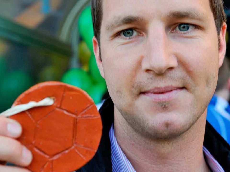 Jochen Saier, der Leiter der Freiburger Fußballschule  | Foto: seeger