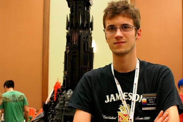 Kevin Walter gewinnt Preis bei der Brickworld 2011 in Chicago