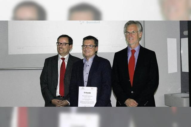 Auszeichnung in der Uni