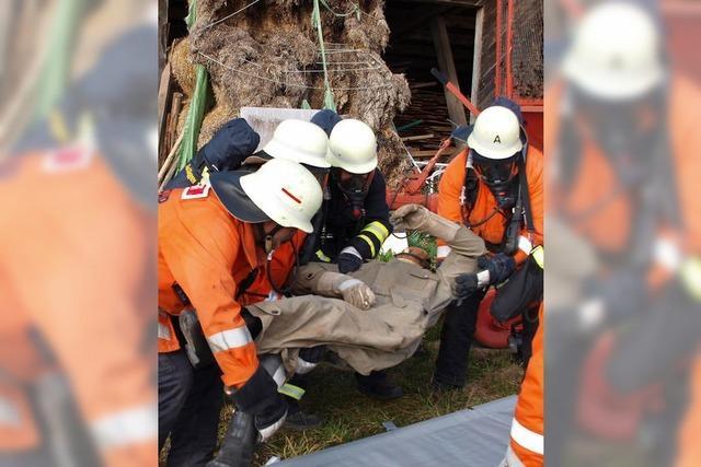 Feuerwehrleute aus Ebnet sind gut ausgebildet