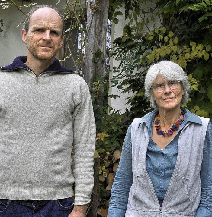 Warnen weiterhin vor Gesundheitsschäde...n, Joachim Mutter und Barbara Dohmen.   | Foto: Elisabeth Willers