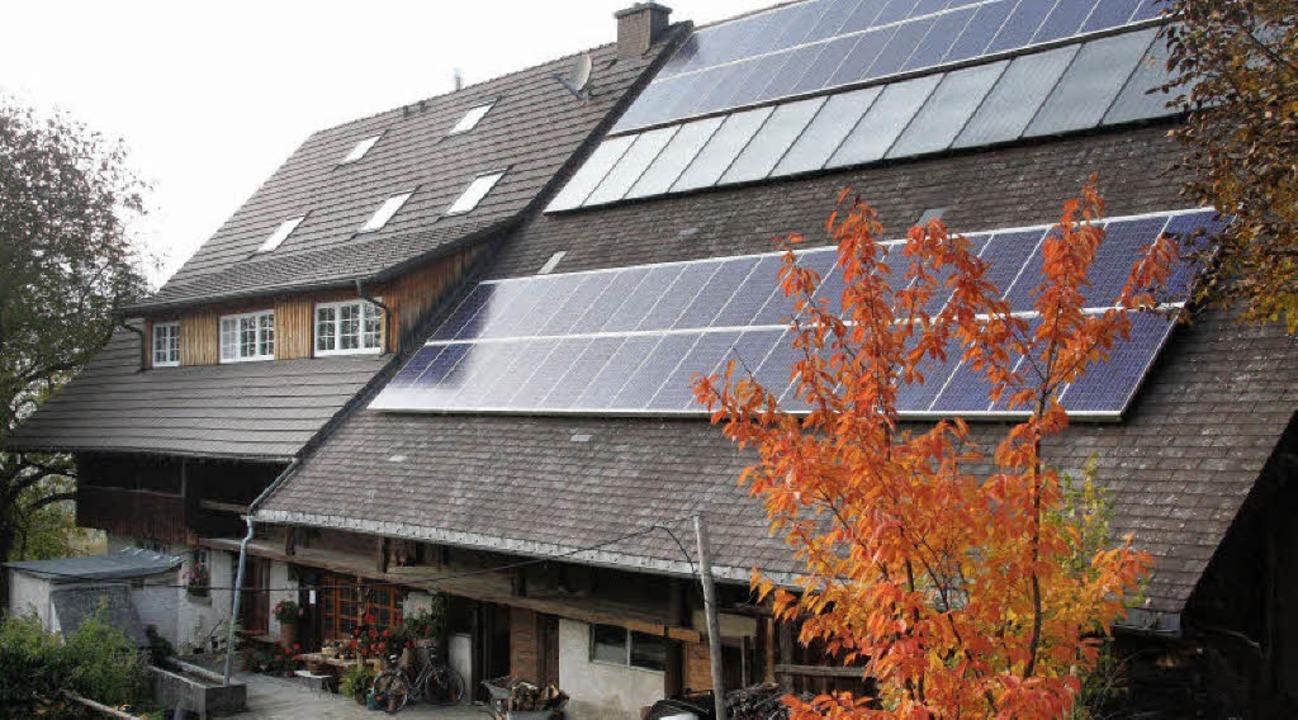 Der Hanisenhof in Oberried-Weilersbach...e und mit einer Hackschnitzelheizung.   | Foto: Silvia Faller
