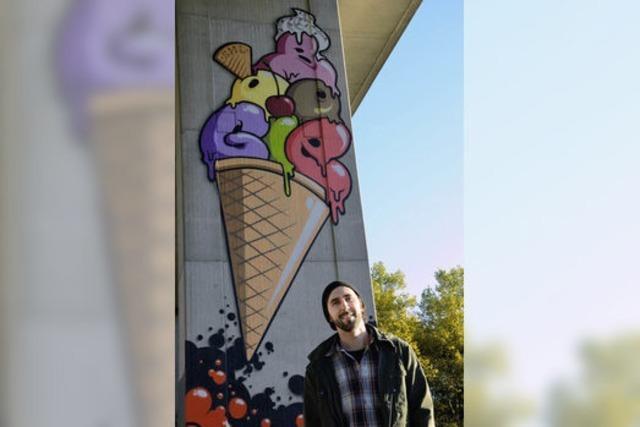 Mit Graffiti ins Business