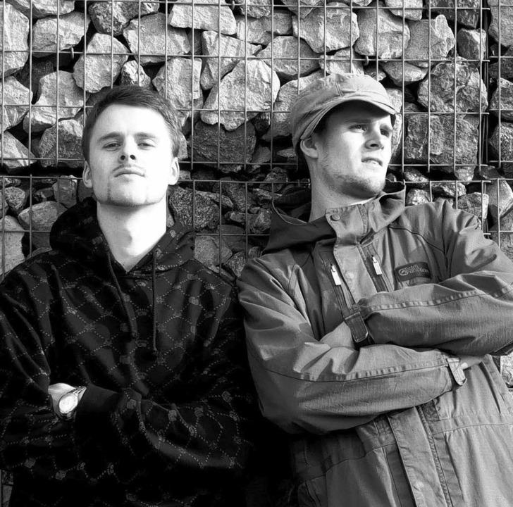 Zwillingsrapper:  Felix und Till Neumann sind der Kern der Buddah Woofaz   | Foto: pro