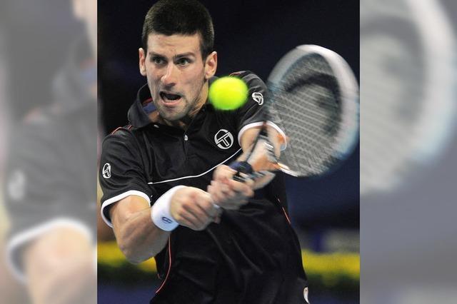 Novak Djokovic: der Mann mit der Maske