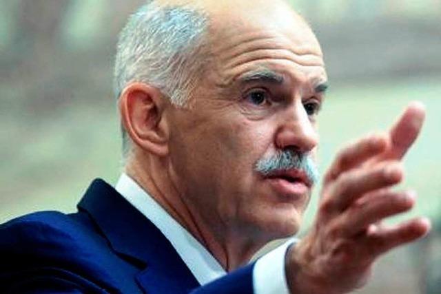 Griechenland: Papandreou gewinnt Vertrauensfrage