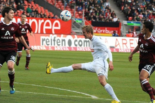 SC Freiburg schlägt Nürnberg – das Glück ist zurück