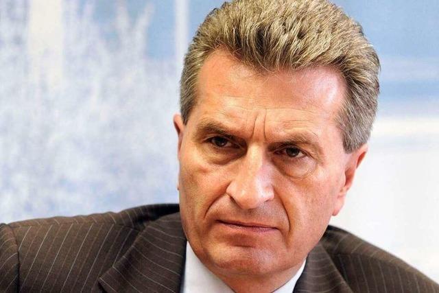 Oettinger soll höhere S21-Kosten verheimlicht haben