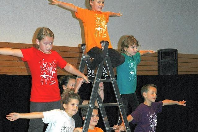 Zirkus hielt 28 Kinder fünf Tage lang in Atem