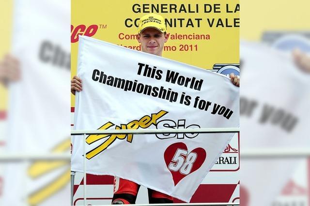 Weltmeister Stefan Bradl hat doppelt Glück