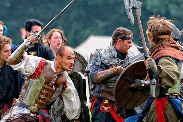 Im Rollenspiel wird man zum Krieger oder zur Elfe