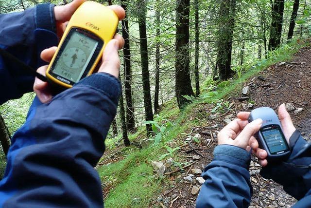 ENTER: Schnitzeljagd mit GPS-Gerät