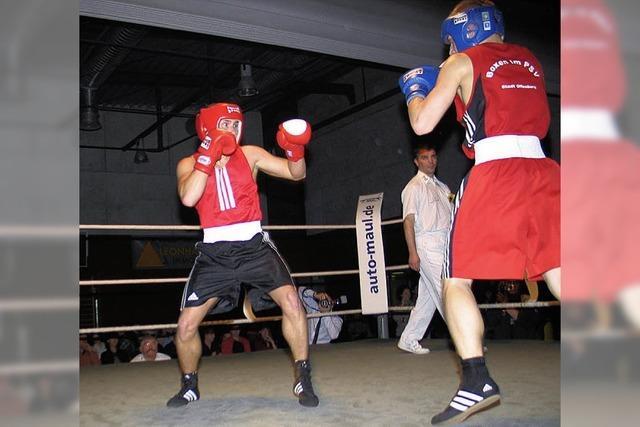Spannende Kämpfe und Erfolge für Riegeler Boxer