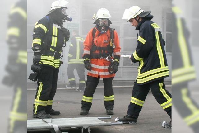 Probe: Feuer im Reifenlager