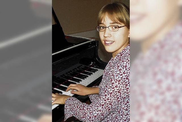 Klaviertalent wird Pianistin