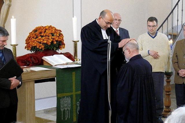 Freude über neuen Pfarrer