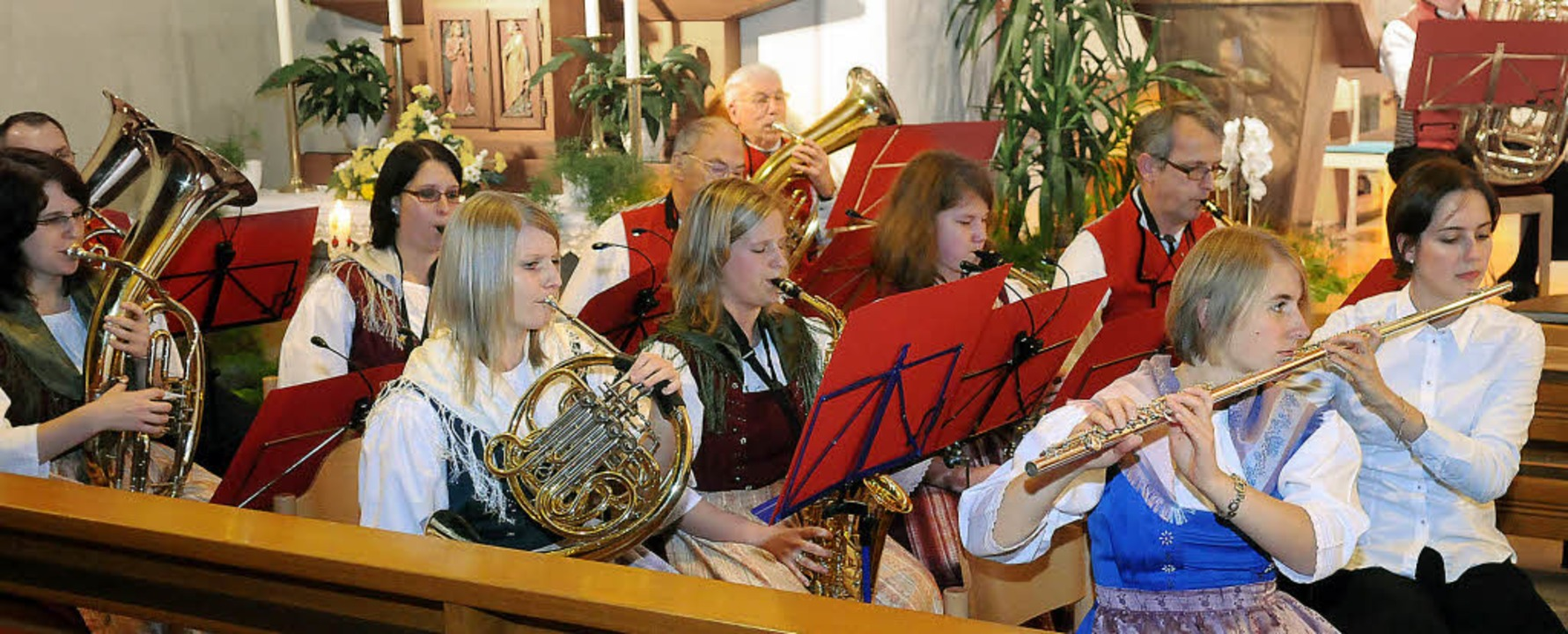 Die Leistung der Musiker belohnte das Publikum mit tosendem Applaus.    | Foto: Wolfgang Künstle