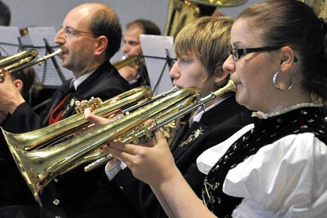 Auch Blasmusiker werden nun älter
