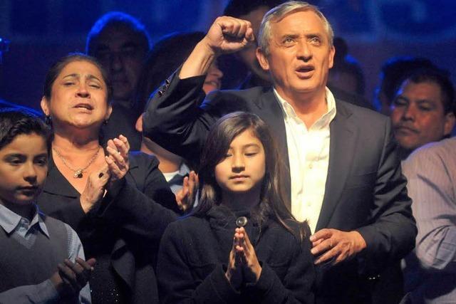 In Guatemala regiert wieder ein General