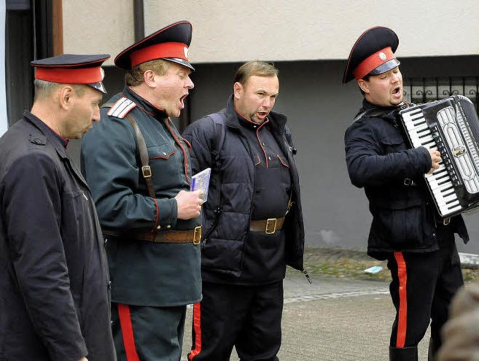 Zu einer öffentlichen Veranstaltung ge...den Musikanten im Wechsel zugewiesen.   | Foto: Wolfgang Künstle
