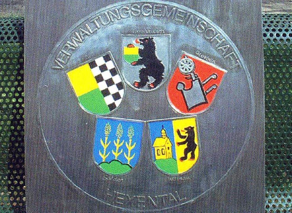 Die Wappen der VG-Mitgliedsgemeinden    | Foto: BZ-Archiv