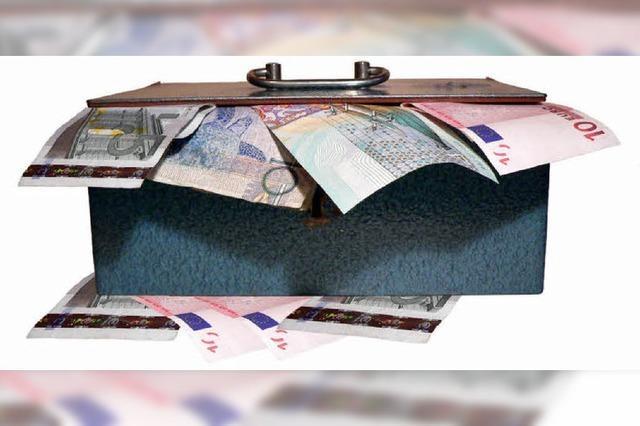 Optimistisch geplanter Haushalt