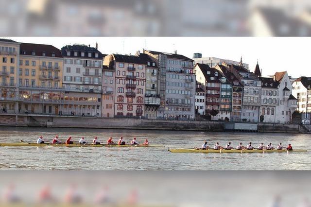 60 Achter wenden auf dem Rhein