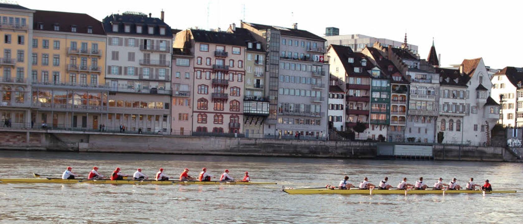Über 6,4 Kilometer vorbei an der Basle...er beim Basel Head wohl keinen Blick.     Foto: felix held
