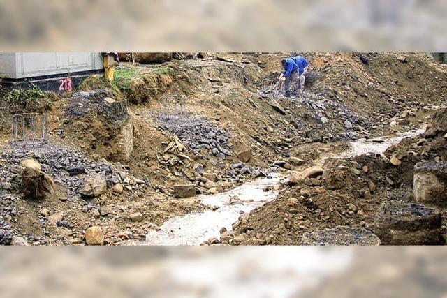 Hochwasserschutz dominiert Etat