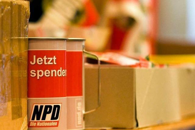 VGH entscheidet über NPD-Parteitag in Offenburg