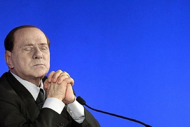 Berlusconi zauderte bis zuletzt
