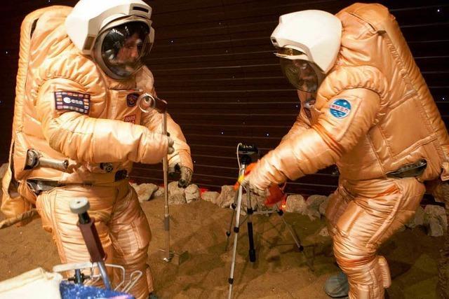 Flug zum Mars strapaziert die Nerven