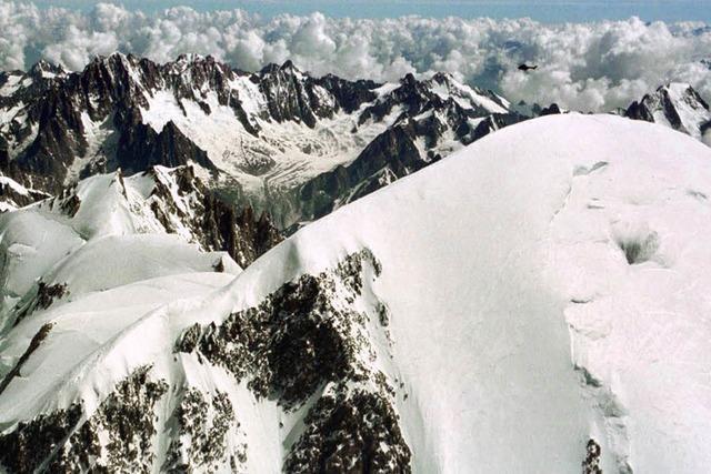 Zwei am Montblanc vermisste Bergsteiger sind tot