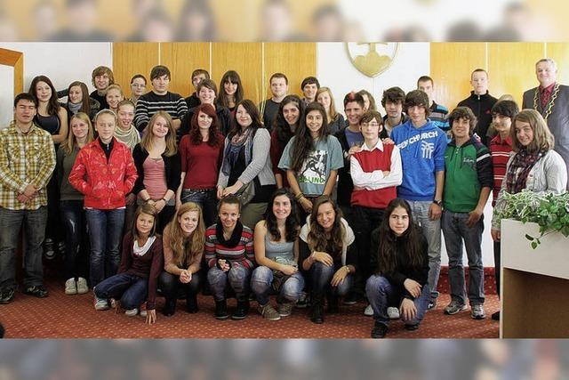 Waldkircher Schüler trafen sich mit anderen Jugendlichen in der Slowakei