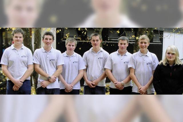 Musikverein Urberg: 7 Jungmusiker legen in Steinabad Leistungsabzeichen in Silber ab