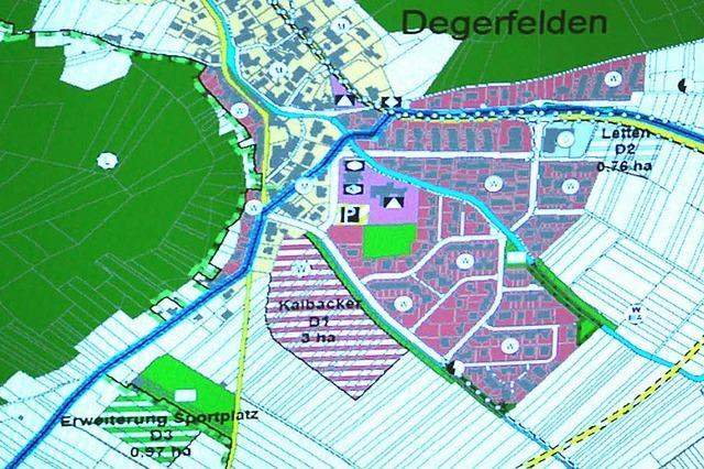 Mit dem Sportplatz des FV Degerfelden wird es nichts