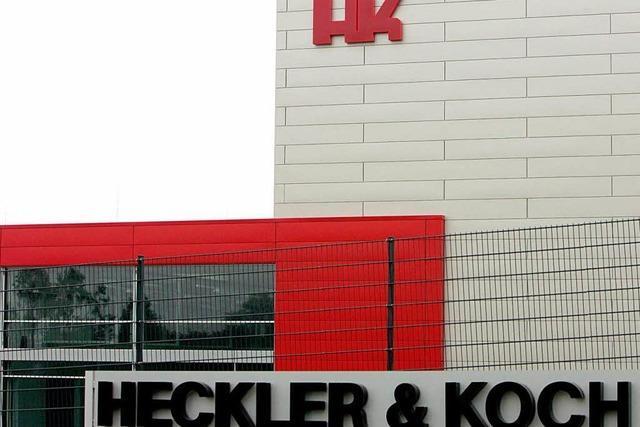 Razzia bei Waffenhersteller Heckler & Koch