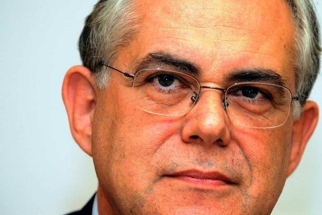 Papademos wird neuer griechischer Regierungschef