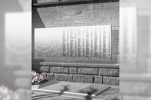 Erinnerung an 273 Opfer