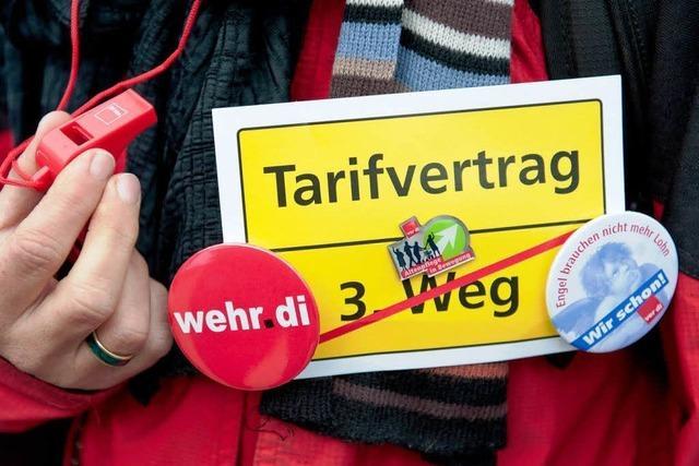 Evangelische Kirche bekräftigt Streikverbot