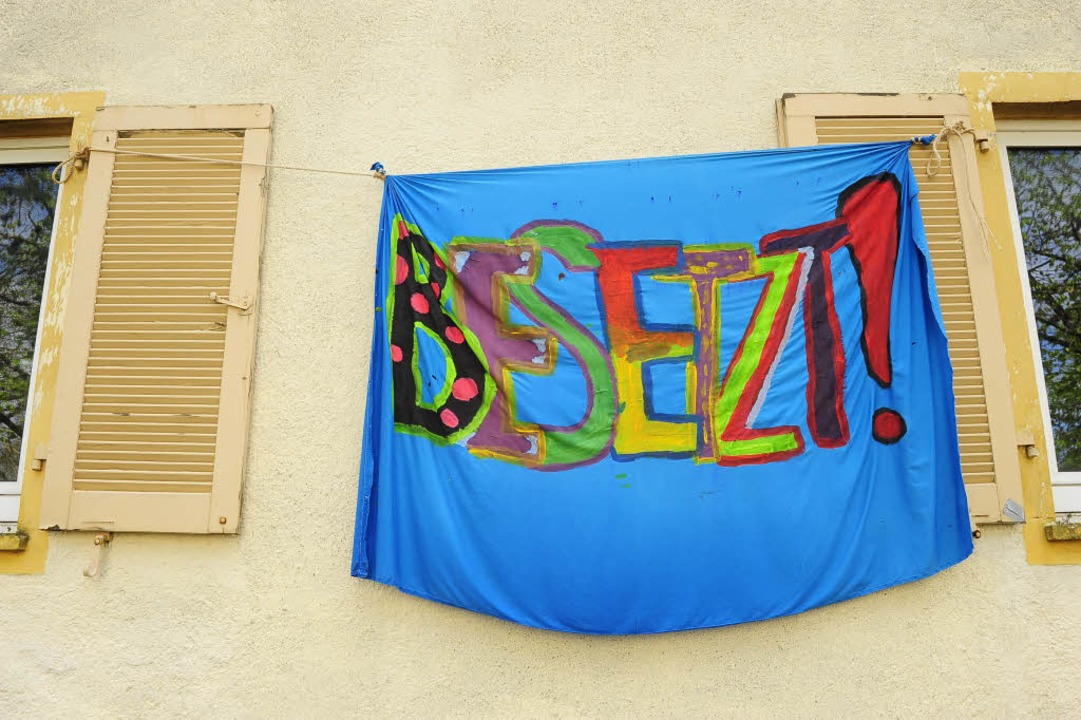 Bereits im April hatten Aktivisten ein... Johann-Sebastian-Bach-Straße besetzt.  | Foto: Thomas Kunz
