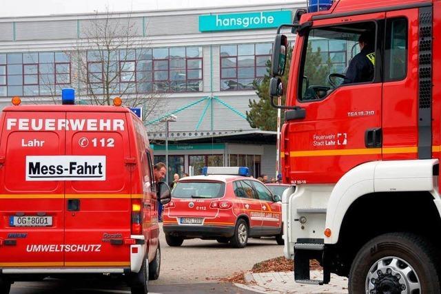Hansgrohe: Gasalarm im Offenburger Werk