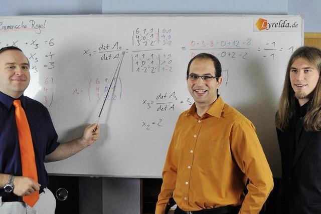 Den Mathelehrer vor- und zurückspulen