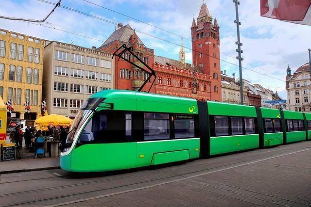 Basel schafft 60 neue Straßenbahnen an