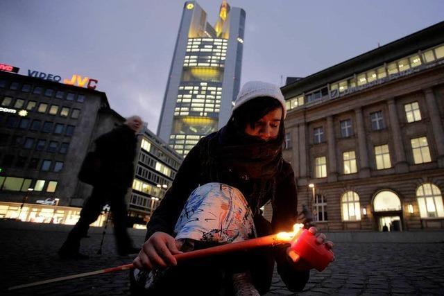 Wieder Demos gegen die Akteure der Finanzmärkte