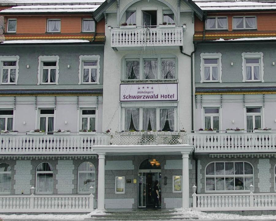 Der Startschuss für die Erweiterung des Schwarzwaldhotels ist gefallen.  | Foto: Juliane Kühnemund
