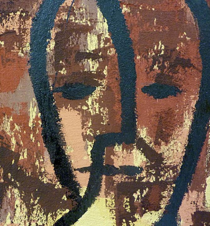 Heinrich Graf aus Eisenbach sucht  nach dem Ausdruck des menschlichen Gesichts.   | Foto: Karla Scherer