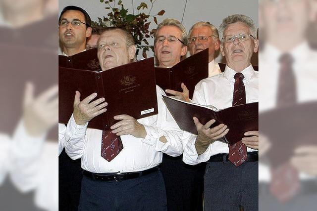 Männerchor schlägt mit Spirituals auch neue Wege ein